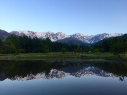 Mountains in Hakuba