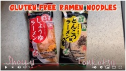 Watch the video of our best-selling instant gluten free ramen noodles☆